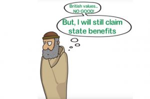 DID YOU KNOW BRITISH ISLAMISTS ARE HYPOCRITES?